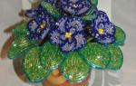 Калина из бисера: мастер-класс плетения с пошаговыми фото