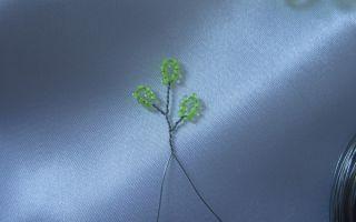 Береза из бисера: летнее и осенне дерево своими руками