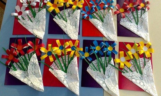 Поделки из бисера в виде украшений к 8 марта своими руками