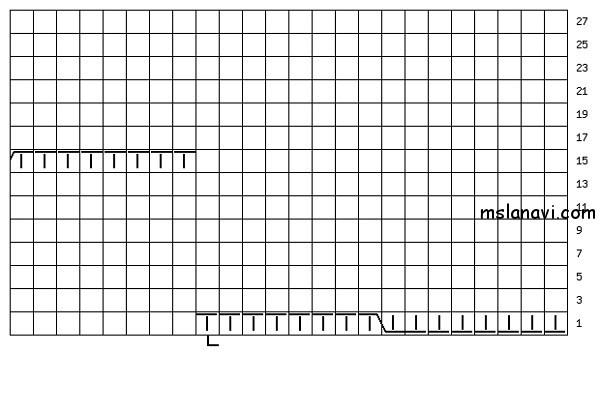 Кардиган спицами схемы и описание модели с косыми полочками