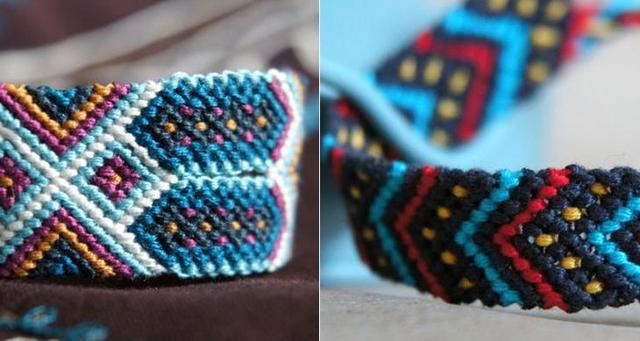 Фенечки из мулине, мандалы и браслеты своими руками