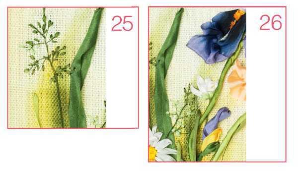 Вышивка лентами ирисы в пошаговых фото и видео мастер-классах с примерами схем
