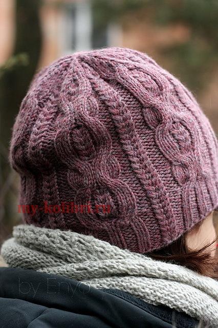 Вязаные женские шапки с описанием работы для начинающих