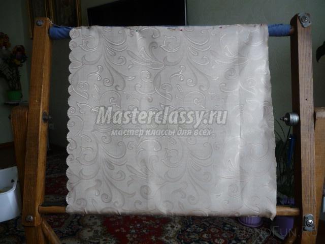 Подушки вышивка лентами: мастер-класс с пошаговыми фото