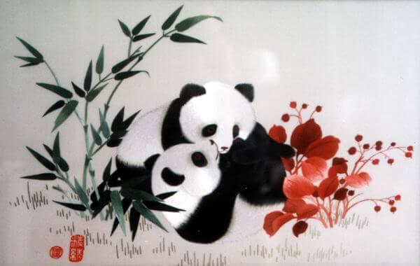 Вышивка шелком и секреты техники китайских картин