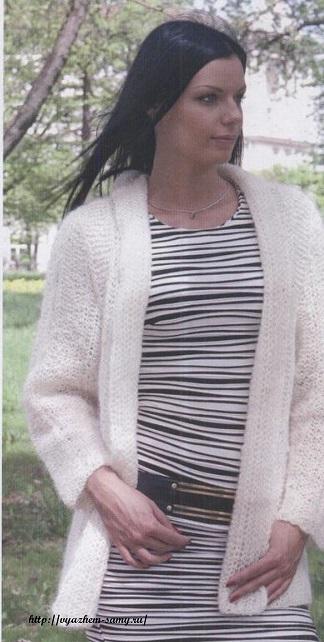 Вязание из мохеровой пряжи: шаль, свитер и схемы узоров