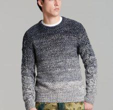 Мужские свитера спицами в пошаговых фото и видео мастер-классах