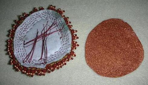 Анемоны из бисера в мастер-классе с пошаговыми фото