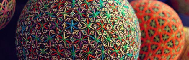 Темари как делать вышитые шары из ниток своими руками (фото)