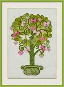 Вышивка Дерево счастья в схемах и пошаговых мастер-классах для начинающих