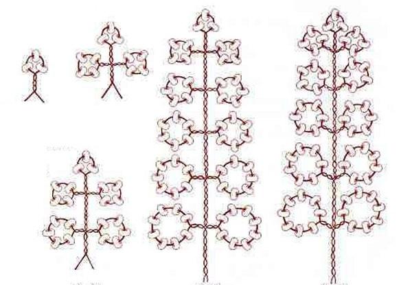 Акация из бисера в пошаговом фото мастер-классе со схемами плетения