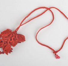 Клубника из бисера в пошаговом мастер-классе для начинающих и схемах плетения