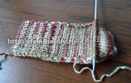 Носки на двух спицах: техника вязания по примеру мастер-класса с фото
