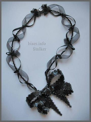 Бантик из бисера мастер-класс плетения (фото)