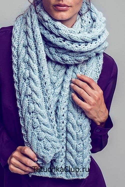 связать красивый шарф спицами схема и фото кухню стекла фотопечатью