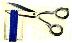 Как сделать своими руками бахрому для шарфика или палантина