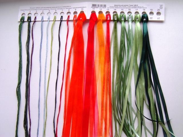 Вышивка лентами маков в пошаговом мастер-классе для начинающих