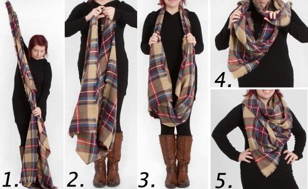 Яркий аксессуар палантин: как носить, чтобы выглядеть стильно