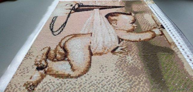 Вышивка стразами картин и икон в мастер-классе (фото и видео)