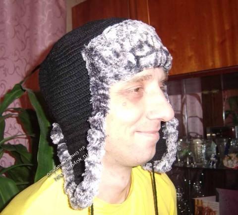 Вяжем шапки мужские разных фасонов по схеме и видео мастер-классам