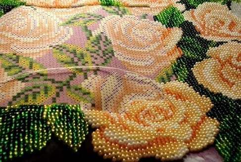 Картины бисером вышивка и бисероплетение разных изделий