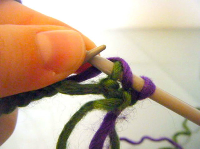 Английская резинка спицами схема вязания (фото и видео)