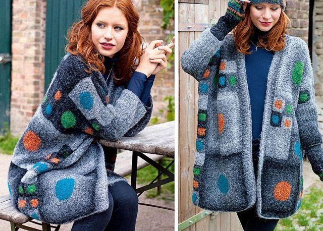 Вязаное пальто для девочки своими руками по схеме с подробным мастер-классом