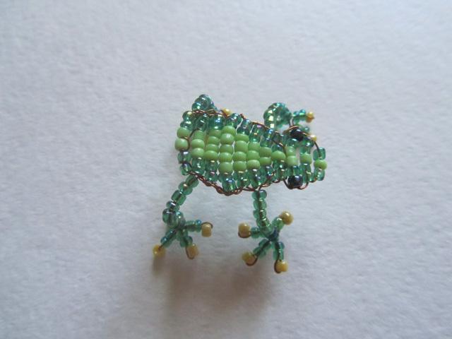 Лягушка из бисера для начинающих в пошаговых мастер-класса плетения