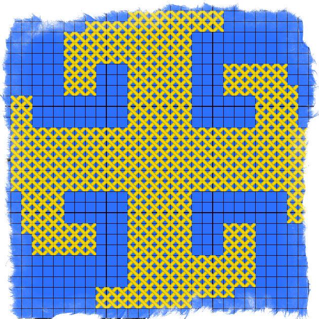 Вышивка крестом оберегов по схеме с описанием