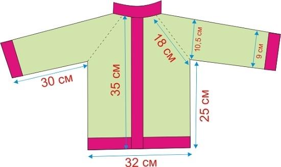 Вяжем спицами жакет для девочки по подробному мастер-классу со схемой и видео МК