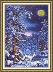 Зима вышивка бисером в схемах