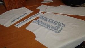 Вышивка на одежде крестиком и гладью (видео)