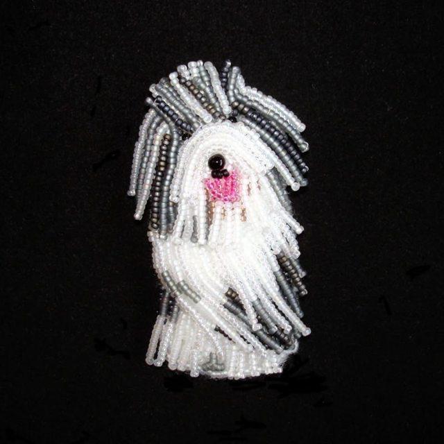 Собака из бисера: МК с пошаговыми фото