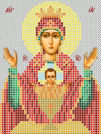 Схема вышивки иконы николая чудотворца и видео МК