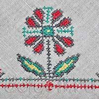 Вышивка салфеток крестом по схеме с пошаговым описанием работы