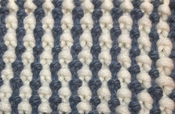 Узор Путанка спицами схема вязания и видео мастер-класс