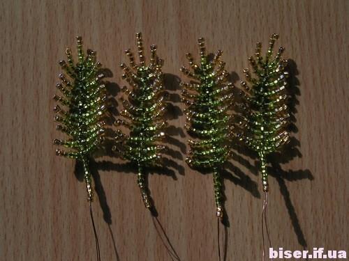 Пальма из бисера в пошаговом фото мастер-классе