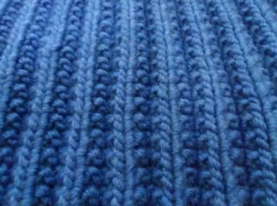 Польская резинка: схема вязания и видео мастер-класс