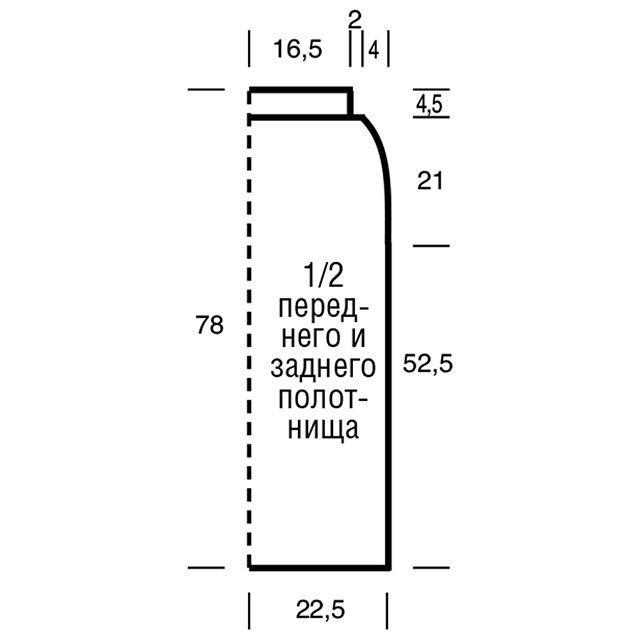 Юбка-карандаш спицами в подробном мастер-классе со схемами
