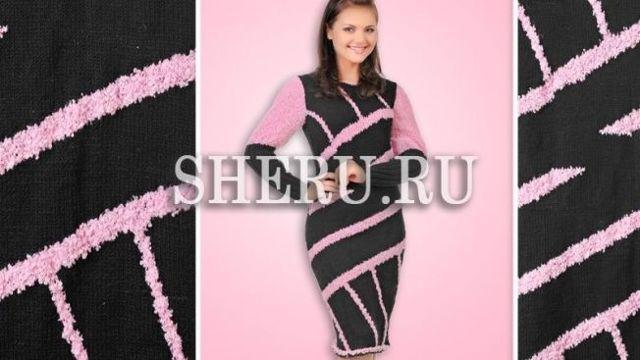 Вязаные теплые платья по схемам с описанием и пошаговым фото-видео урокам