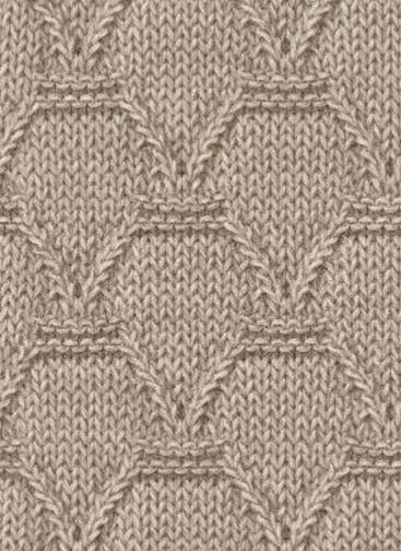 Вязание плотных узоров спицами по схеме и пошаговых фото мастер-классах
