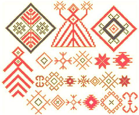 Вышивка на полотенеце крестиком в разных стилях и тематиках