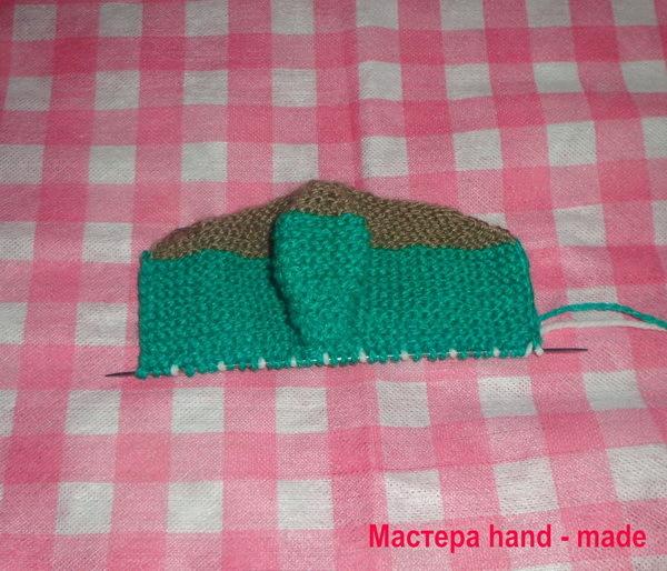 Вяжем пинетки сапожки спицами для малыша по фото-видео МК