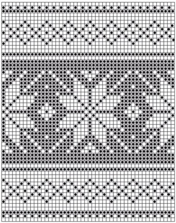 Вяжем прихватки спицами разных форм и расцветок по схемам и описанию