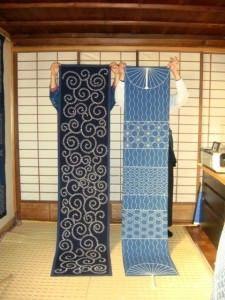 Монохромная вышивка и живопись (фото)