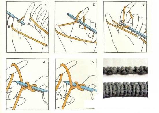 Шапка чулок схема вязания спицами для мужчин и женщин по схеме с описанием