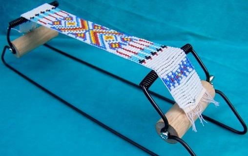 Монастырское плетение бисером по схеме с описанием для начинающих