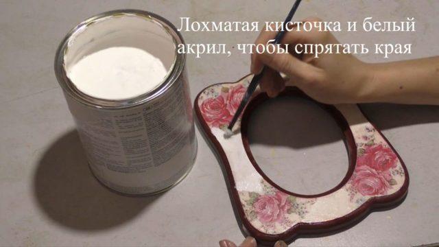 Фоторамки декупаж: идеи и мастер-классы (фото и видео)