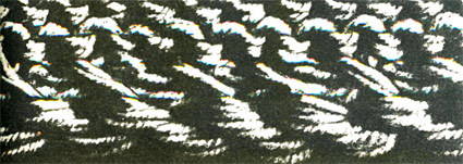 Прибавление петель на спицах внутри и по краю полотна и красивое закрытие петель