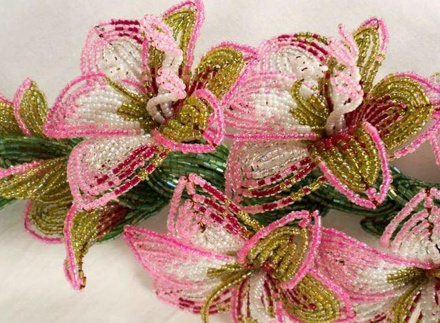 Одуванчик из бисера плетение по схеме с описанием и фото мастер-классом